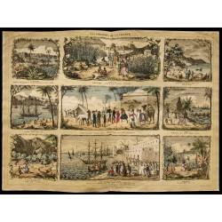 1853 - Les colonies de la...
