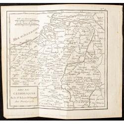 1750 - Carte des Pays-bas...
