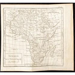 1750 - Carte de l'Afrique