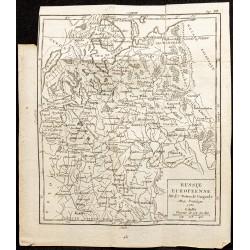 1750 - Carte de la Russie...