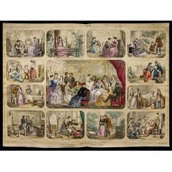 1853 - La femme (Lithographie)