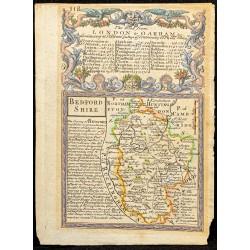 1750ca - Carte du Bedfordshire