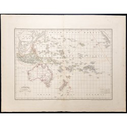 1870 - Carte de l'Océanie