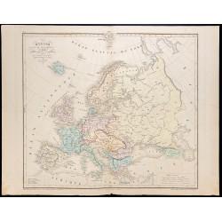 1879 - Carte de l'Europe