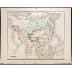 1878 - Carte de l'Asie