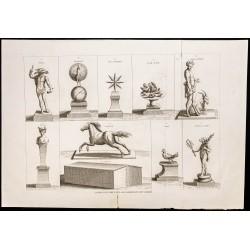 1844 - Faux dieux des...