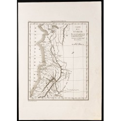 1844 - Carte de la Syrie