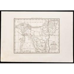 1844 - Carte ancienne de...