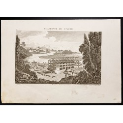 1844 - Charpente de l'Arche...