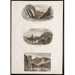 1844 - Désert du Sinaï