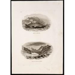 1844 - Mont Hor et Mont Sinaï