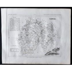 1833 - Département du Cantal