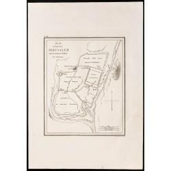 1844 - Plan de Jérusalem