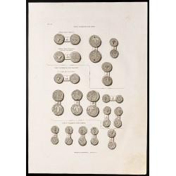 1844 - Médailles samaritaines
