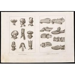 1844 - Coiffures des orientaux