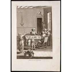 1844 - Cérémonie du shabbat