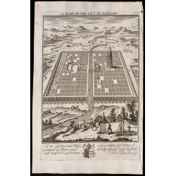 1733 - Plan de la ville de...