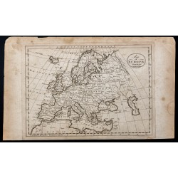 1800 - Carte d'Europe