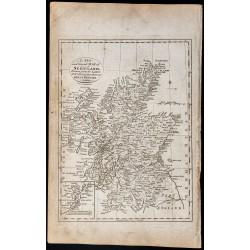 1800 - Carte de l'Écosse