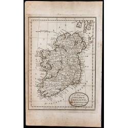 1800 - Carte de l'Irlande