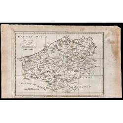 1800 - Carte des Pays-Bas