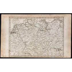 1800 - Carte de l'Allemagne