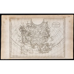 1800 - Carte de l'Asie