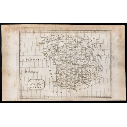 1800 - Carte de la France