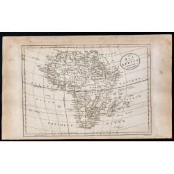 1800 - Carte de l'Afrique