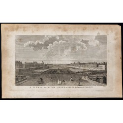 1800 - Vue de Paris