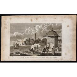 1800 - Vue de l'Île de Chios