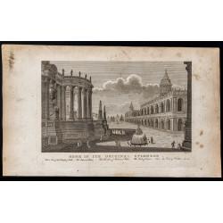 1800 - Vue de la ville de Rome
