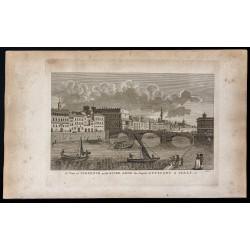 1800 - Vue de la ville de...