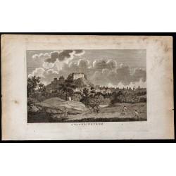 1800 - Vue de Édimbourg en...