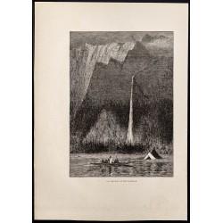 1880 - La cascade de...