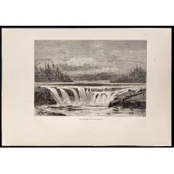 1880 - Willamette Falls en...
