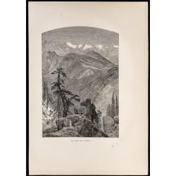 1880 - Les cimes des sierras