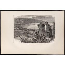 1880 - Devil's Lake dans le...
