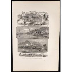 1880 - Rivière Ohio vers...