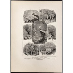 1880 - Mammoth Cave dans le...