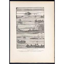 1880 - Lac Champlain