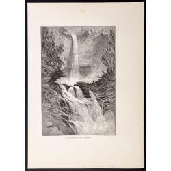 1880 - Catskills Waterfalls