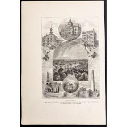 1880 - Boston dans le...