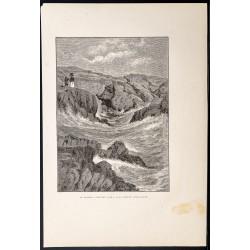 1880 - Spouting Cave à Newport