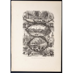 1880 - Central Park à New York