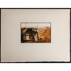 1916 - Cabane abandonnée