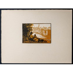 1916 - Repos des chiffonniers