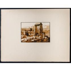 1916 - Puits à pierre