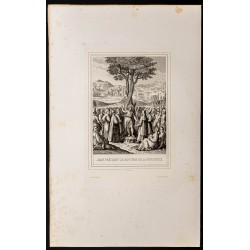 1853 - Jean prêchant le...