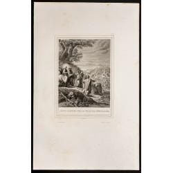1853 - Jésus pleure sur...